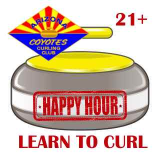 Happy Hour Learn to Curl